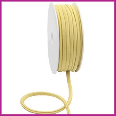 Ibiza stitched elastisch lint per 10cm Gold