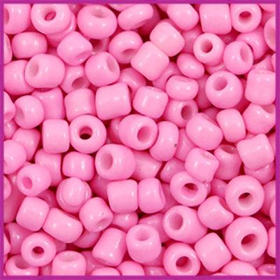Rocailles 6/0 (4mm) Aurora pink