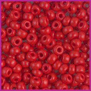 Toho rocailles 6/0 Opaque pepper red