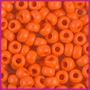Miyuki rocailles 6/0 Opaque orange