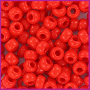 Miyuki rocailles 6/0 Opaque vermillion red