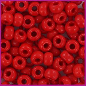 Miyuki rocailles 6/0 Opaque red
