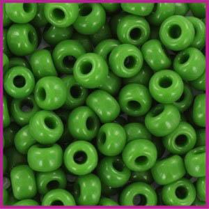 Miyuki rocailles 6/0 Opaque green