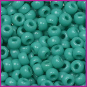Miyuki rocailles 6/0 Opaque turquoise green