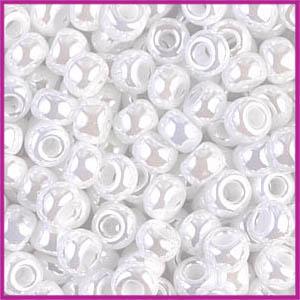 Miyuki rocailles 6/0 Ceylon white pearl