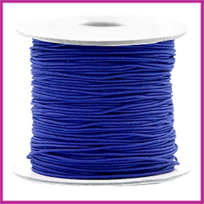 Gekleurd elastisch draad Ø0,8mm per meter Cobalt blue