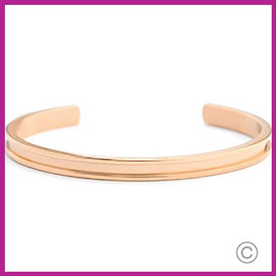 Miyuki Exchange RVS armband Rosegold