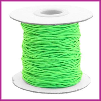 Gekleurd elastisch draad Ø0,8mm per meter Chartreuse green