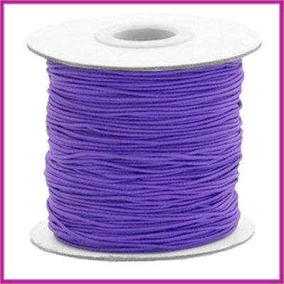 Gekleurd elastisch draad Ø0,8mm per meter Imperial purple