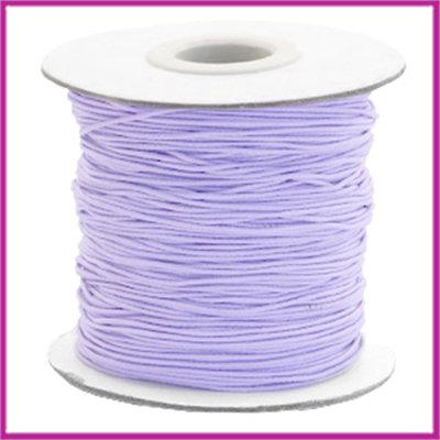 Gekleurd elastisch draad Ø0,8mm per meter Lavender purple