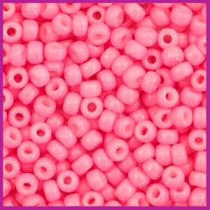 Miyuki rocailles 8/0 Duracoat opaque carnation pink 4467