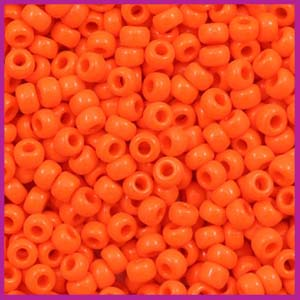 Miyuki rocailles 8/0 opaque orange 406