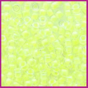 Miyuki rocailles 8/0 Luminous yellow 1119