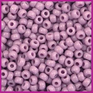 Miyuki rocailles 8/0 opaque mauve purple 410
