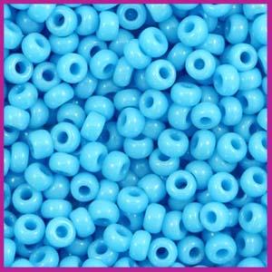 Miyuki rocailles 8/0 opaque turquoise blue 413
