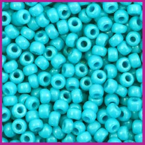 Miyuki rocailles 8/0 Duracoat opaque underwater blue 4480