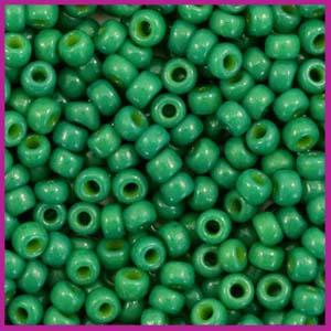 Miyuki rocailles 8/0 Duracoat opaque spruce green 4477