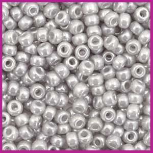 Miyuki rocailles 8/0 Ceylon silver grey 526