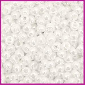 Miyuki rocailles 8/0 Ceylon white pearl 528