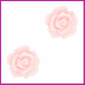 Roosje kraal 10mm peachskin rose