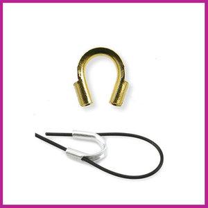 Metaal Wire Guardian 5x4mm goudkleurig