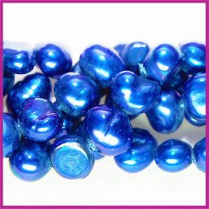 Zoetwaterparel barok ca. 6 - 7 mm Hollands blauw