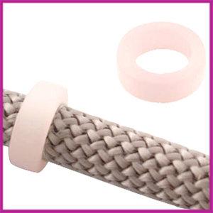 Dreamz Polaris schuiver matt 16x6mm Soft Pink