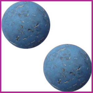 Polaris cabuchon 20mm flake Legion blue