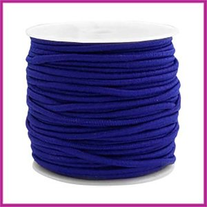 Gekleurd elastisch draad Ø2,5mm Cobalt blue