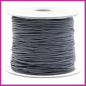 Gekleurd elastisch draad Ø0,8mm per meter Cool grey